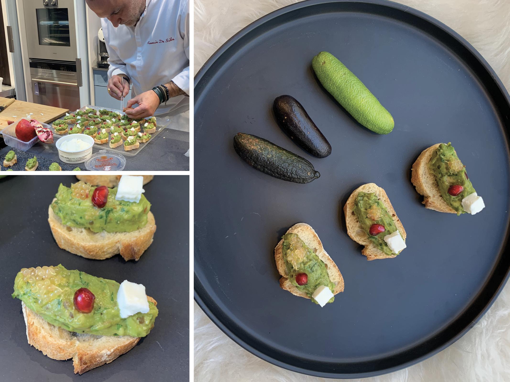 Guacamole_Toast_fromage_de_brebis_grenade_citron caviar_fruits_at_home_moncitroncaviar.com