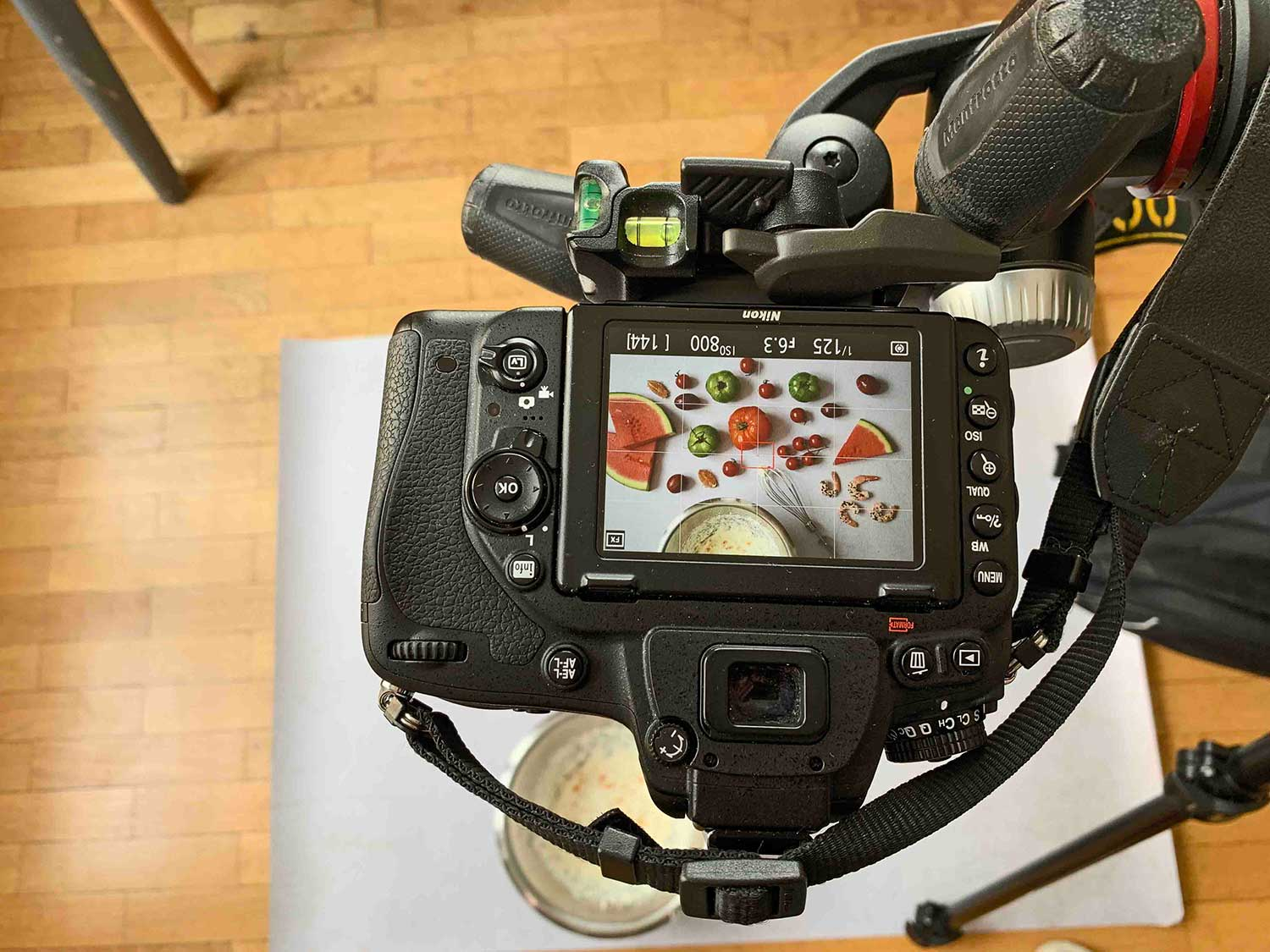 shooting recette bloodlime