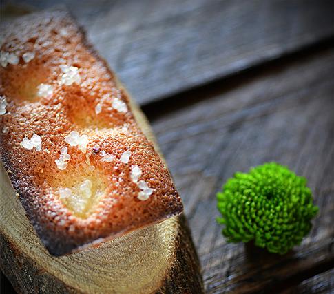citron caviar financier poire
